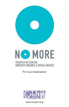 NCADV's Home -- Support putting a stop to domestic violence and sexual assault in the US