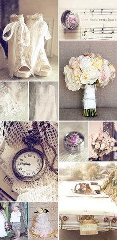 ideas vintage para bodas de septiembre