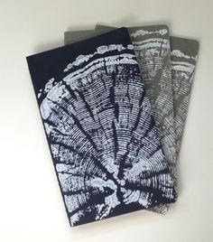 Pine+tree+print+on+Molskine+Journal.+Original+Tree+by+LintonArt,+$14.00