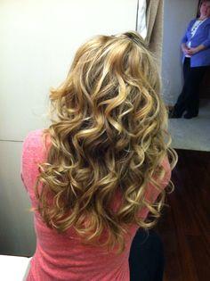 Wedding hair take 1