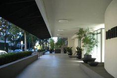 818 Doheny Dr, West Hollywood, CA 90069 Doheny Plaza condominiums West Hollywood, Condominium, Park, Street, Plants, Parks, Plant, Walkway, Planets