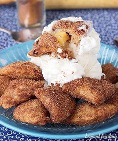 Deep Fried Apple Pie Bites - HowToInstructions.Us