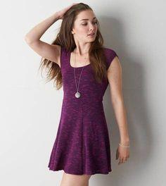 Fuchsia Pink AE Knit Kate Dress
