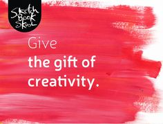 Roses will wilt after a day or two, so why not give a gift of creativity for #ValentinesDay? #artforall #sketch #sketchbookskool