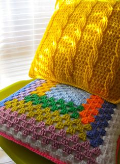"""crochet pillows on the """"to-make"""" list"""
