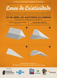 Curso de Criatividade - 30 de abril