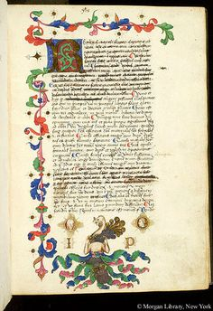 Commentary, MS M.938 fol. 1r - Images from Medieval and Renaissance Manuscripts - The Morgan Library & Museum