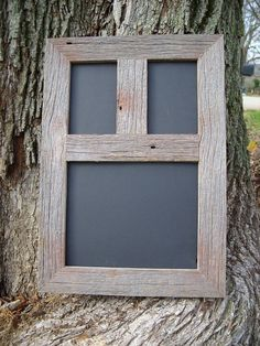 Weathered Rustic Reclaimed Barnwood Barn Photo Picture Collage Multi Frame 8x10 & 4x6  W/Glass