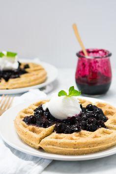 Recipe // Blueberries + Lemons + Eggs + Non-Dairy Milk + Maple Syrup + Baking Powder + Oat Flour + Poppy Seeds + Salt + Vanilla + Coconut oil