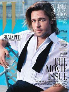 Brad Pitt for W