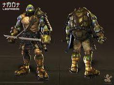 Leonardo in a samuria armor