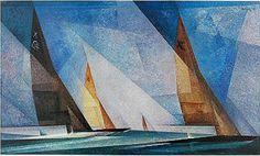 Montreal Museum of Fine Arts announces Lyonel Feininger. From Manhatten to the Bauhaus - Museum Publicity Infinite Art, Degenerate Art, Sailboat Art, Sailboats, Art Criticism, Art Through The Ages, Wassily Kandinsky, Museum Of Fine Arts, American Artists