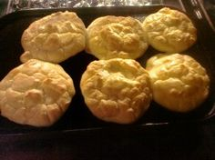 Low Carb Buns - Just eggs, cream cheese and cream of tartar. No way, too good to be true!