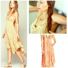 FREE PEOPLE Maxi NWT NWT AND STUNNING ❤️ Color is Clementine ❤️ S/M/L available in my closet ❤️ Free People Dresses Maxi