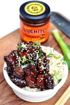 Twice Cooked Sticky Pork Belly With Gran Luchito Smoked Chilli Honey