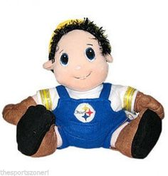"Pittsburgh Steelers 12""  Plush Stuffed Mascot #PittsburghSteelers Visit our website for more: www.thesportszoneri.com"