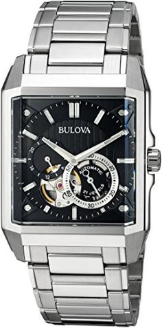 Looking for Bulova Mens Automatic - ? Check out our picks for the Bulova Mens Automatic - from the popular stores - all in one. Fancy Watches, Cool Watches, Watches For Men, Wrist Watches, Luxury Watches, Cheap Designer Watches, Bulova Mens Watches, Bulova Accutron, Automatic Watch
