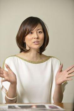 """Actress Ryoko Yonekura says she fell in love with the musical """"Chicago."""" (Photo by Takahiro Yanai)"""