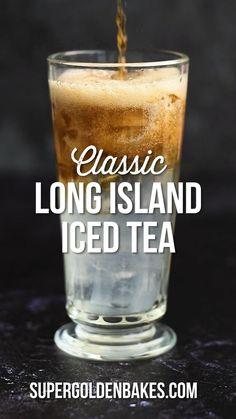 Iced Tea Cocktails, Cocktail Drinks, Cocktail Recipes, Alcoholic Iced Tea, Chocolate Alcoholic Drinks, Kahlua Drinks, Fireball Drinks, Bartender Drinks, Alcoholic Cocktails