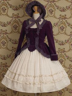 Therese Pepuramu Jacket with http://lolibrary.org/apparel/classical-chiffon-skirt
