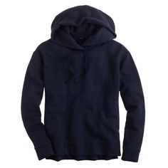 J.Crew Oversized Fleece Hoodie Sweatshirt Soft and cozy plush sweatshirt from J.Crew. Oversized fit, drop shoulder seams, slim arms, and a slightly longer back hem. Perfect for wearing with jeans and sneakers for the weekend or throwing on over your gym clothes for the way home! I have two of these and wear my other one more - it's great for walking with my dog! This NAVY BLUE sweatshirt has never been worn but has been washed. See the last 3 pictures for fit and style. This one runs a bit…