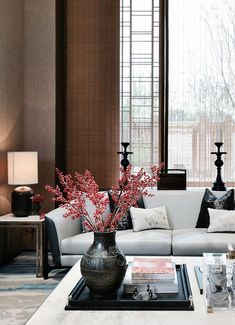 Red Living Room Color Schemes – Home Decor Style Asian Living Rooms, Living Room Red, Living Room Color Schemes, Living Room Interior, Living Room Decor, Bathroom Interior, Dining Room, Modern Chinese Interior, Asian Interior Design