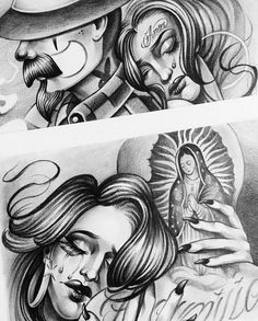 Posts tagged as Yg Tattoos, Brown Pride, Chicano Art, Pin Up Art, Culture, Sick, Posts, Drawings, Art