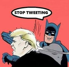 Trump. Can't hold a long serious discussion that requires deep thought so he just tweets, mostly insults.