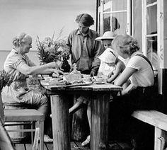 Tove Jansson's island cottage