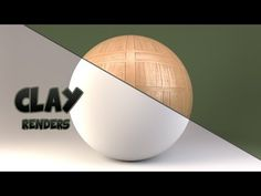 How To Set Up Clay Renders In Blender - YouTube