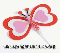 Sugestão de lembrancinha de borboletas feitas de EVA com moldes para festinhas infantis ou para o Dia das crianças!   Oi mamães!!   Vim com...