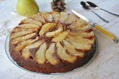 Gâteau renversé poires & chocolat noir