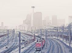 Lost Train by Franck Bohbot #photography #train #paris