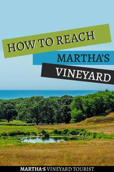 You'll have to plan in advance how get to and from Martha's Vineyard when booking a vacation there. Check out your options for getting to Martha's Vineyard. You can reach this island off the coast of Cape Cod by car, by ferry, or by plane Travel Inspiration, Travel Ideas, Travel Tips, Travel Hacks, Travel Packing, Budget Travel, Travel Destinations, Vacation Trips, Day Trips