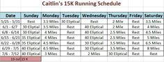 15k training plan #fitness #running #fitfam #training