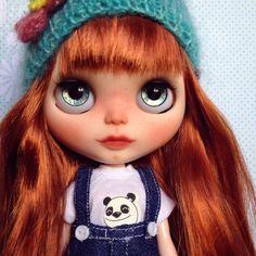 Custom Blythe Doll by Blythe & Shine OOAK Red by BlytheandShine