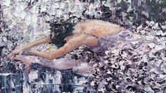 Sugar Plum, palette knife study oil on canvas. Ballerina stretching in purples, black, and white. Palette Knife Paintings by Meredith Hannon Palette Knife Painting, Oil On Canvas, Plum, Study, Stretching, Sugar, Paintings, Landscape, Nice