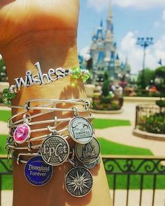 We L O V E ✨ the Alex and Ani Disney edition bracelets✨which one will you be getting next? Disney Style, Disney Love, Disney Magic, Disney Disney, Disney Vacations, Disney Trips, Alex And Ani Bracelets, Wrap Bracelets, Pandora Bracelets
