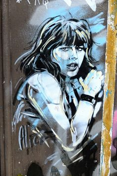 Alice - street art - Paris 20 - rue Dénoyez