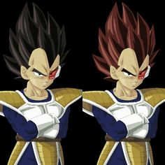Para quem conhece Dragon Ball Z sabe que no começo da saga dos Sayajins a primeira vez que o Vegeta apareceu o seu cabelo era ruivo e por causa da troca constante dos desenhistas a cor do cabelo acabou mudando para preto. Como eu curtir o visual do Vegeta ruivo decidi fazer isso.  O que acharam?