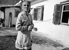 The Old Woman of Larissa, Greece