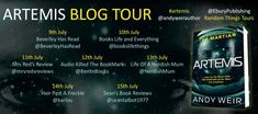Artemis by Andy Weir #blogtour @andyweirauthor #artemis @eburypublishing #randomthingstours – Mrs Red's Reviews