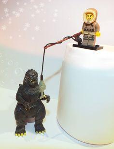 Eskimo fishing