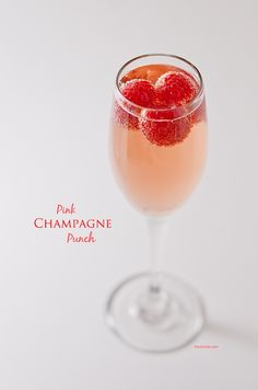 Pink Champagne Punch Recipe - The Chic Life