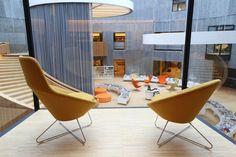 Bibliothèque Oscar Niemeyer  MilK decoration