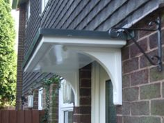DRIPROLL GRP DOOR CANOPY PLUS FREE BRACKETS CANOPIES FRM £100 | eBay £120
