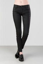 Harper Ultra Skinny Coated Jeans; to get that slightly edgy look with a sparkly top