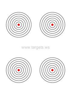 Bullseye Target 8