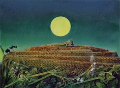 Photo: Max Ernst - The entire city, 1934