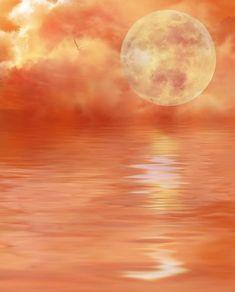 Digital Art, Water, Clouds, Mystic